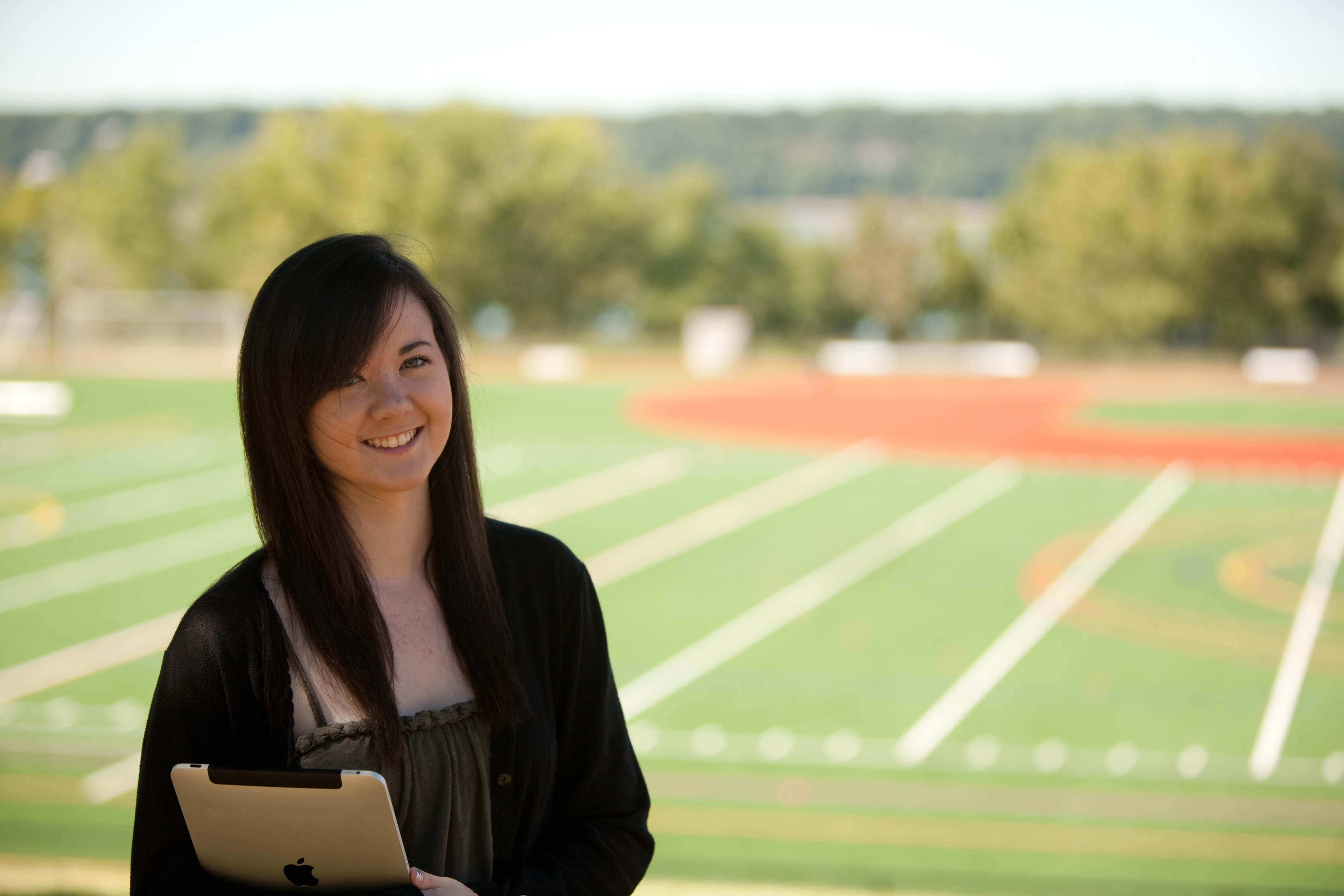 Mercy Student with Field in the Background