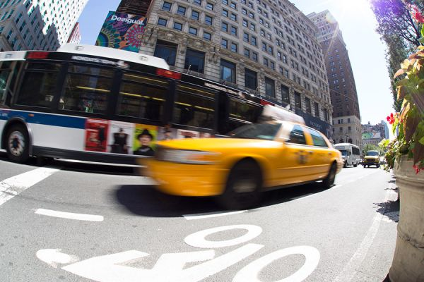 Cab in NYC
