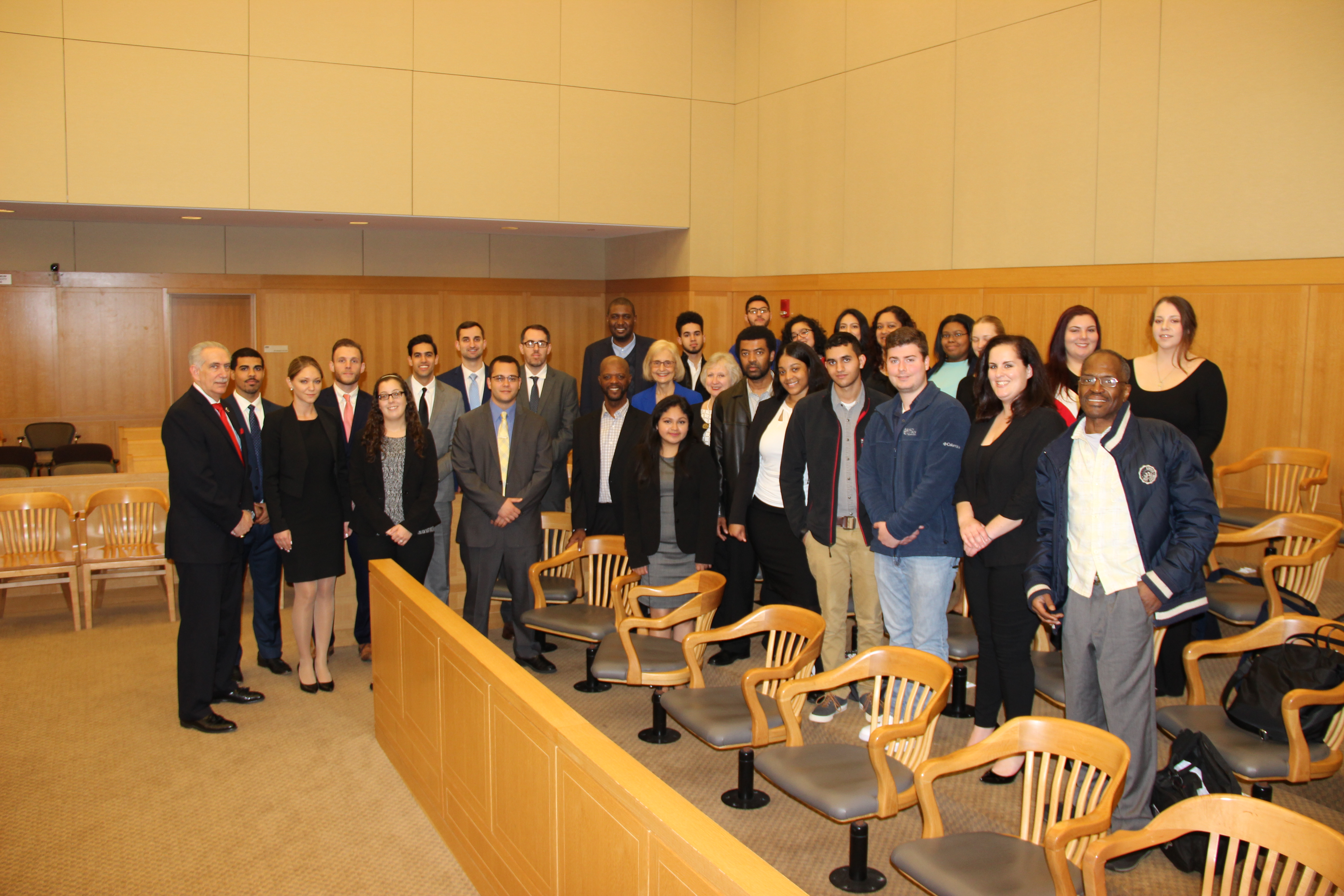 Mercy Students Attend A Court of Appeals Session