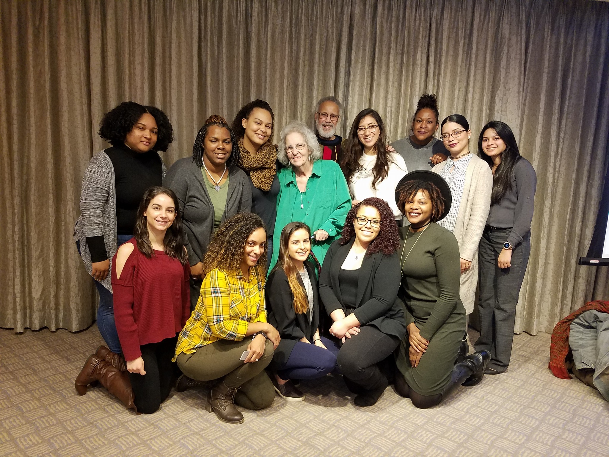 Marriage and Family Therapy students attend Ackerman Institute Annual Conference