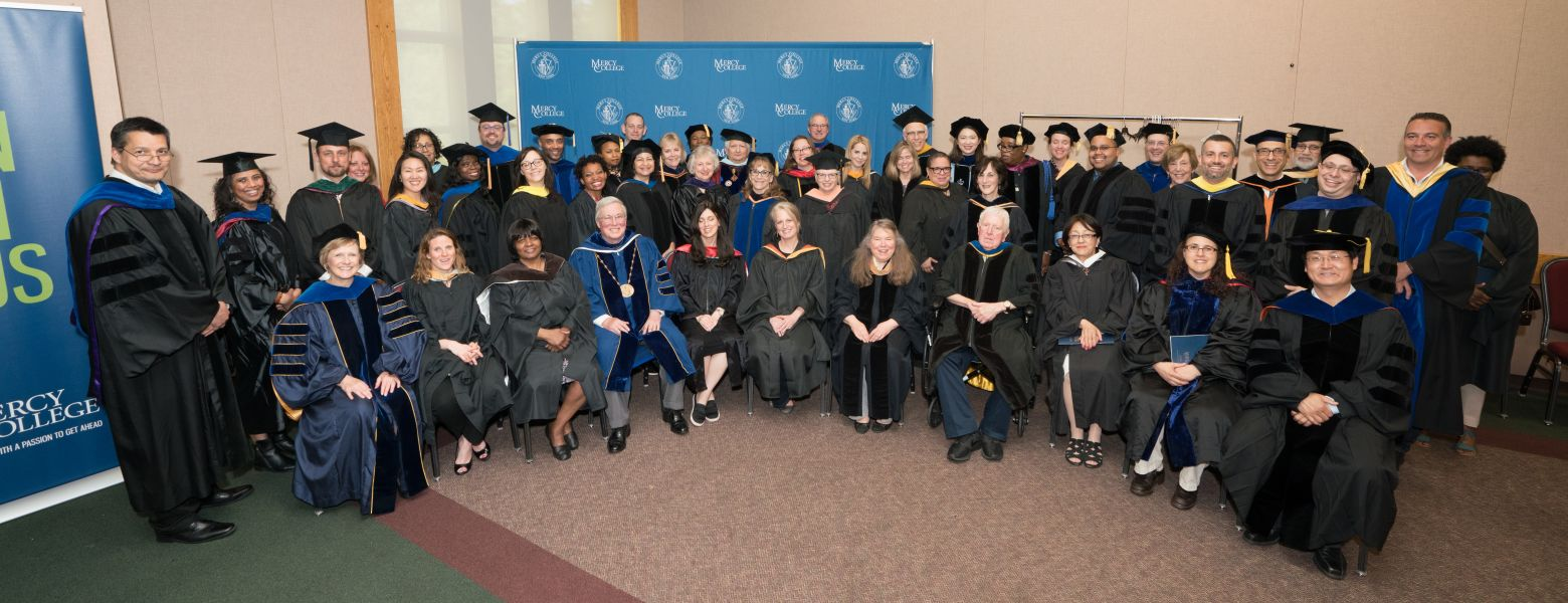SSBS Faculty at Commencement