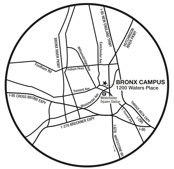 Directions to Bronx Campus